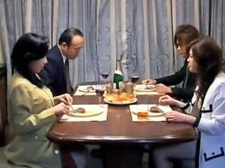 Family Old and Young Asian Asian Teen Family Old And Young