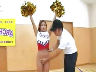 Cheerleader Asian Japanese Asian Teen Cheerleader Japanese Teen