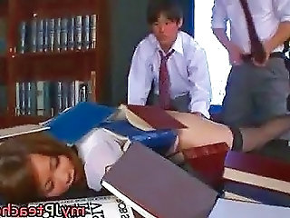 Eri Ouka Hot Japanese Teacher Is...