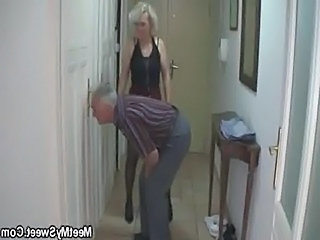 Granny Older Older Man Caught Caught Mom Cheerleader Chinese Boss