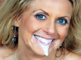 Mature Swallow Facial