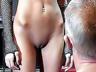 Close up Piercing Pussy Shaved Kinky Torture