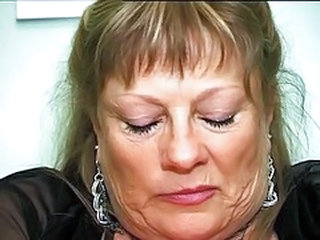 Granny French Mature Granny Busty Son