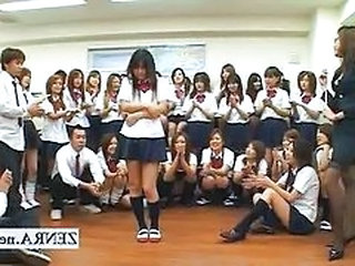 Party Student Uniform Asian Teen Japanese School Japanese Teen