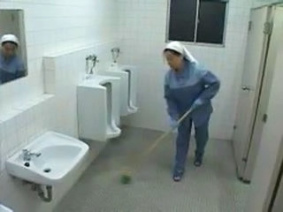 Asian Nurse And Cleaning Lady He...