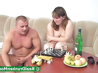 Drunk Game Mom Drunk Mature Mature Young Boy Old And Young