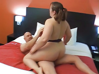 Big Butt BBW Mom Gets Anal