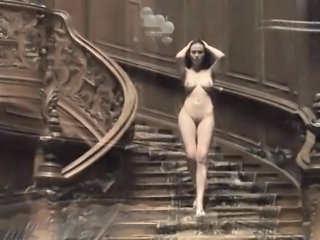 Nudist Vintage Babe