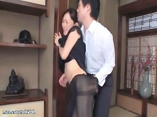 sweet japanese showing her tight