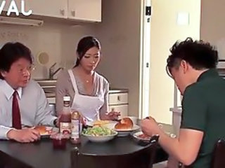 Family Japanese Kitchen Family Japanese Milf Japanese Wife