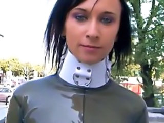Fetish Latex Public Outdoor Outdoor Teen Public