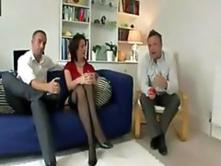 British Threesome Stockings British Fuck British Milf Milf British