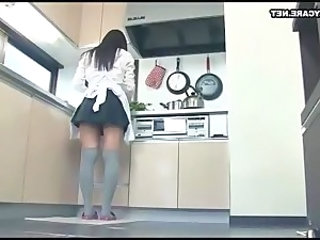 Japanese Maid Uniform Asian Teen Japanese Teen Kitchen Teen