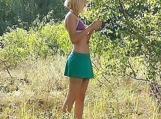 Outdoor Skinny Skirt Hairy Teen Outdoor Outdoor Teen