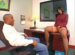 Ebony Masturbating MILF Milf Office Milf Stockings Office Milf