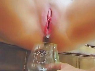 Creampie Shaved Close up
