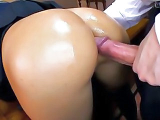 Oiled Doggystyle Teen Anal Big Cock Anal Teen Ass Big Cock