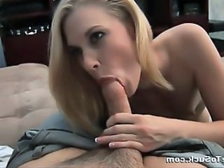 Alexandra Sucks Cock Head