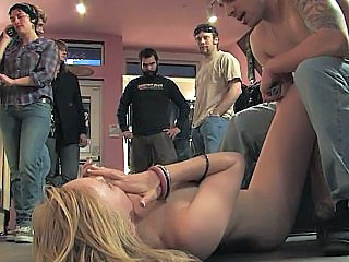 Forced Public Gangbang Public Forced TOE Braid