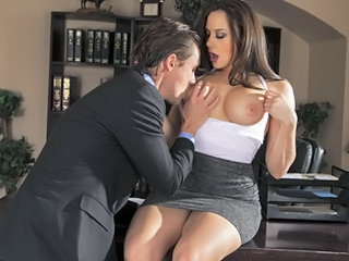 Secretary Office Skirt Big Tits Amazing Big Tits Milf Milf Big Tits
