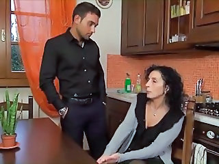 Italian Mom Kitchen Italian Mature Italian Milf Kitchen Mature