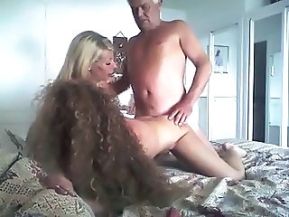 Homemade Long Hair Mom Amateur Daddy Daughter