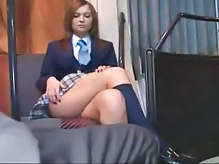 Sexy Euro Schoolgirl has sex in a Bus ctoan