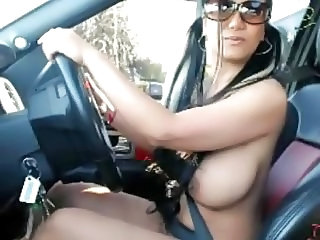 2 Busty Asian Drive Thru