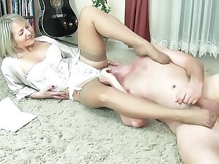 Feet Fetish Legs Foot Footjob Mature Stockings