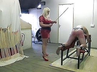 slave feels the cane