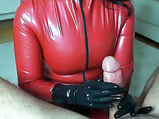 Amateur Handjob Latex Pov Amateur Domination Handjob Amateur
