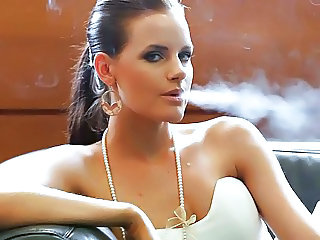 Smoking Cute Babe