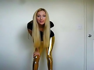 JOI in shiny latex by PR