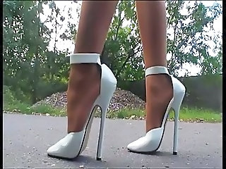 German Outdoor Feet European German High Heels