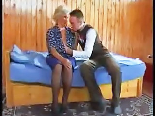 Granny Kissing