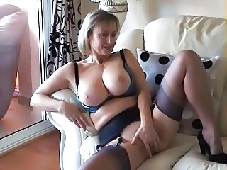 British Lingerie Stockings Big Tits Mature Big Tits Stockings British Mature