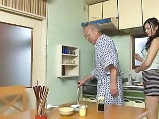 Old And Young Kitchen Asian Old And Young