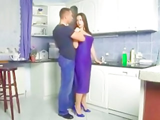 German European Kitchen German Milf