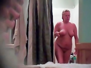 My Mom Naked Drying Off