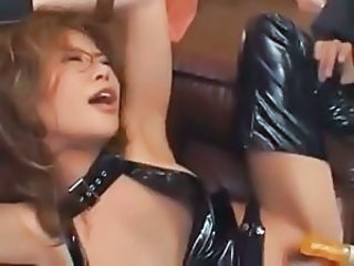 Latex Asiatisk Hardcore Japansk Milf Milf asiatisk