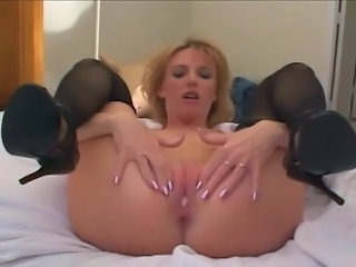 Video from: tnaflix | Holly Wetlove does two big guys.