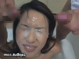 Bukkake Asian Facial