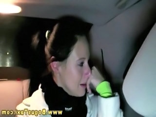 Real raven amateur sucks cock of taxi driver free