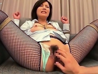 Asian Bondage Fishnet Japanese Fishnet Aunt