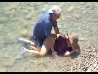 Granny Beach Doggystyle Granny Sex Hidden Mature