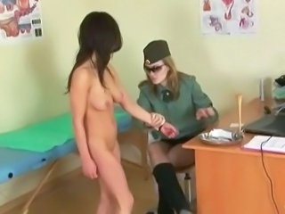 Army Brunette Teen
