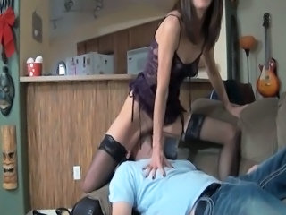 Facesitting Licking  Dirty Milf Stockings Stockings