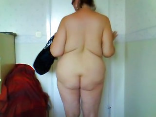 Female Stripping In Bedroom