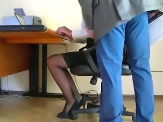 HiddenCam Secretary Voyeur