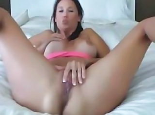 Sexy Body Strips and Fingers Herself HD _: Orgasm